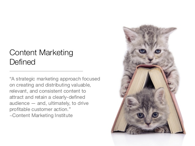 Content Marketing Beyond Cats